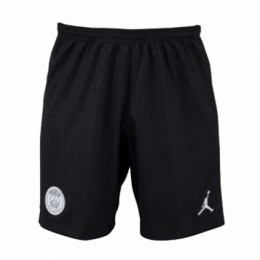 18-19 PSG JORDAN 3rd Away Black Soccer Jersey Short