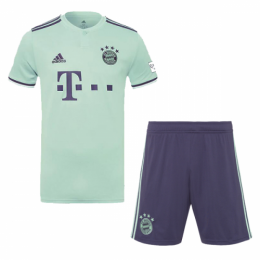 18-19 Bayern Munich Away Soccer Jersey Kit(Shirt+Short)