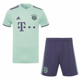 18-19 Bayern Munich Away Soccer Jersey Kit(Shirt+Short)