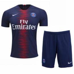 18-19 PSG Home Soccer Jersey Kit(Shirt+Short)