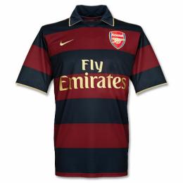 07-08 Arsenal Third Away Retro Soccer Jerseys Shirt