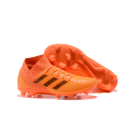 AD X NEMEZIZ 18.1 FG Soccer Cleats-Orange
