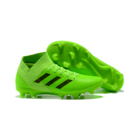 AD X NEMEZIZ 18.1 FG Soccer Cleats-Fluorescence Green