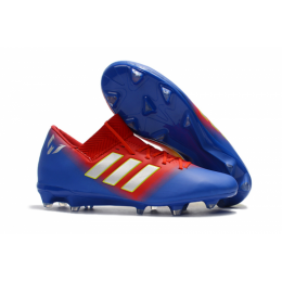 AD X Nemeziz Messi Tango 18.1 FG Soccer Cleats-Blue&Red