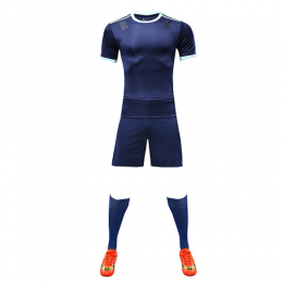 Customize Team Blue Player Version Soccer Jerseys Whole Kit(Shirt+Short+Socks)