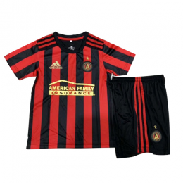 2019 Atlanta United Home Red&Black Children's Jerseys Kit(Shirt+Short)