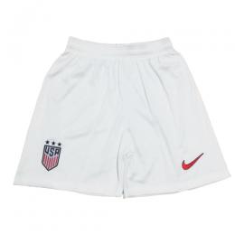 2019 World Cup USA Home White Women's Jerseys Short