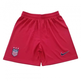 2019 World Cup USA Away Red Women's Jerseys Short