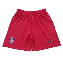 2019 World Cup USA Away Red Women's Jerseys Short