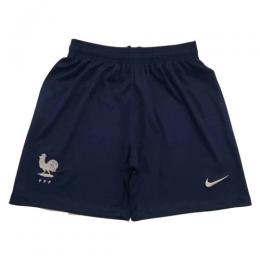 2019 World Cup France Away Navy Women's Jerseys Short