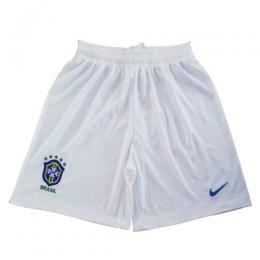 2019 World Cup Brazil Away White Women's Jerseys Short