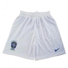 2019 World Cup Brazil Away White Women's Jerseys Short