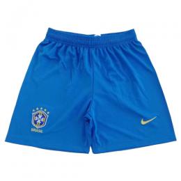 2019 World Cup Brazil Home Blue Women's Jerseys Short