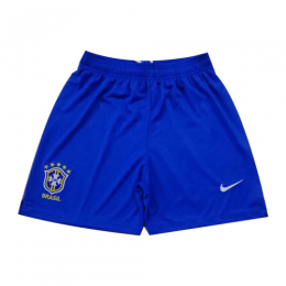 2019 World Cup Brazil Home Blue Jerseys Short