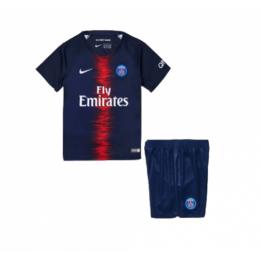 18-19 PSG Home Navy Children's Jersey Kit(Shirt+Short)