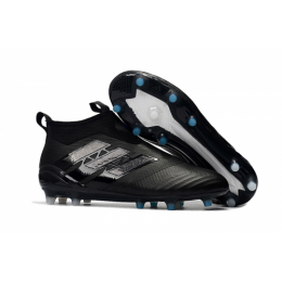 AD ACE 17+ PureControl FG Soccer Cleats-Black