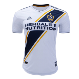timeless design 229b3 5b2fe 2019 La Galaxy Home White Soccer Jerseys Shirt(Player Version)