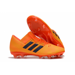 AD X Nemeziz Messi Tango 18.1 FG Soccer Cleats-Orange