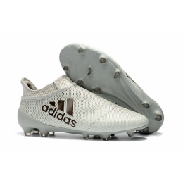 AD X 17+ Purechaos FG Soccer Cleats-Grey