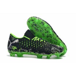 PM Future Netfit Griezmann 19.1 FG Soccer Cleats-Black&Green