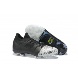 NK Mercurial Greenspeed 360 FG Soccer Cleats-Black&White