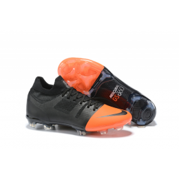 NK Mercurial Greenspeed 360 FG Soccer Cleats-Black&Orange