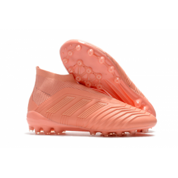 AD X Predator 18+AG Soccer Cleats-Pink