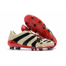 AD X Predator Accelerator Electricity AG Soccer Cleats-Beige
