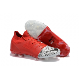 NK Mercurial Greenspeed 360 FG Soccer Cleats-Red&White