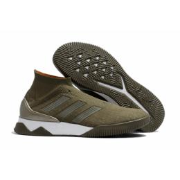 AD X Predator Tango 18+ TR Soccer Cleats-Gray&Green