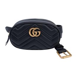 Gucci GG Marmont Matelassé Leather Belt Bag 476431