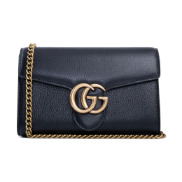 Gucci GG Marmont Leather Mini Chain Bag 401232