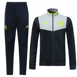19-20 CR Flamengo Navy&Gray Training Kit(Jacket+Trousers)