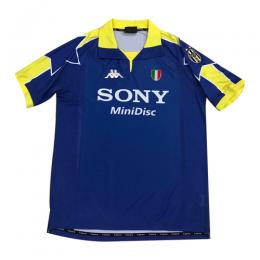 97-98 Juventus Third Away Blue Soccer Retro Jerseys Shirt