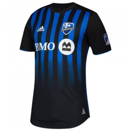 2019 Montreal Impact Home Blue&Black Soccer Jerseys Shirt(Player Version)
