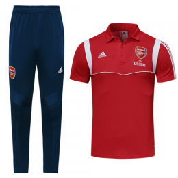 19-20 Arsenal Red Polo Shirt Kit(Top+Trouser)
