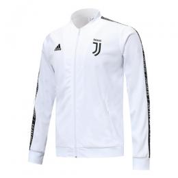 19-20 Juventus White V-Neck Training Jacket