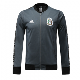 2019 World Cup Mexico Gray V-Neck Tranining Jacket