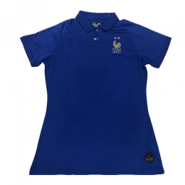 2019 France Home 100-Years Anniversary Women's Jerseys Shirt
