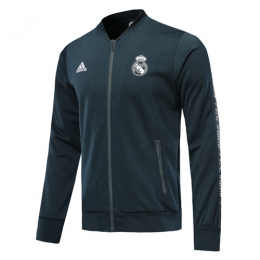 19-20 Real Madrid Navy V-Neck Training Jacket