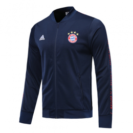 19-20 Bayern Munich Navy V-Neck Training Jacket