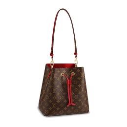 Louis Vuitton Monogram Neonoe-Red&Havane M44021