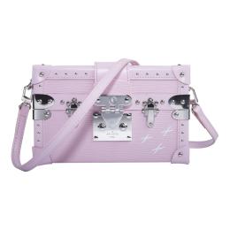 Louis Vuitton Monogram Petite Malle Tags Bag-Pink M94219