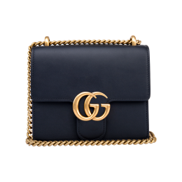 Gucci GG Marmont Calfskin Leather Shoulder Bag 431384