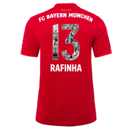 19-20 Bayern Munich Home Red Special RAFINHA  #13 Jerseys Shirt