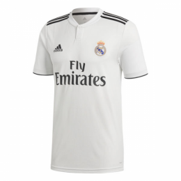 77a2d6d3150 18-19 Real Madrid Home White Soccer Jersey Shirt