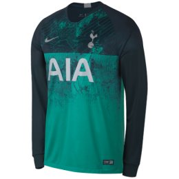 18-19 Tottenham Hotspur Third Away Green Long Sleeve Jersey Shirt