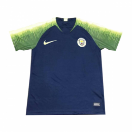 18-19 Manchester City Navy Training Jersey Shirt(Player Version)