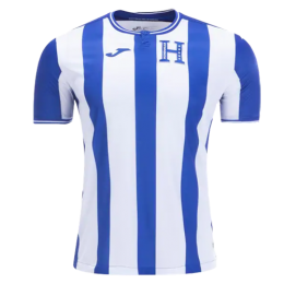 2019 Honduras Away Blue&White Soccer Jerseys Shirt