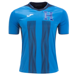 2019 Honduras Third Away Blue Soccer Jerseys Shirt